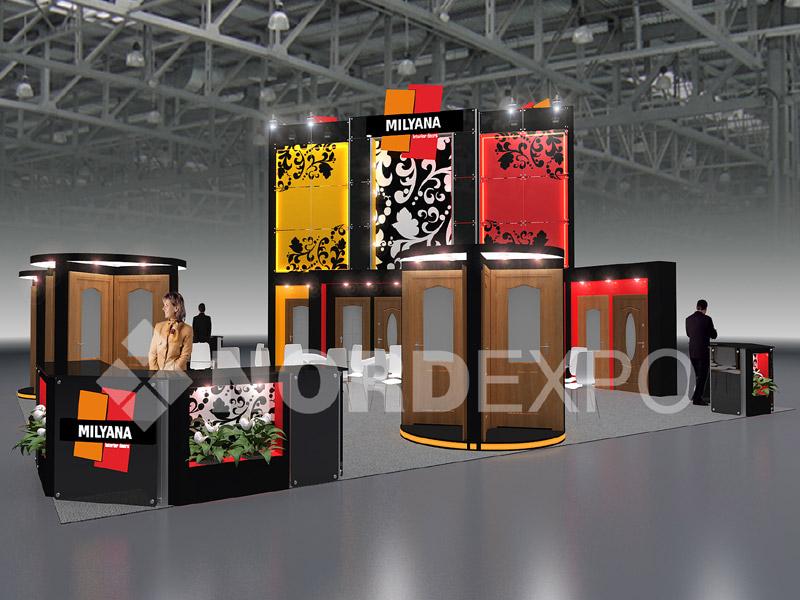 Дизайн выставочного стенды
